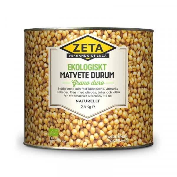 Matvete Durum EKO 1x2.6kg, Zeta #5315
