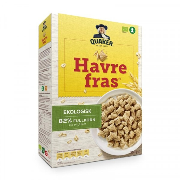 Havrefras, 300 g 18x300g Quaker #5360907175