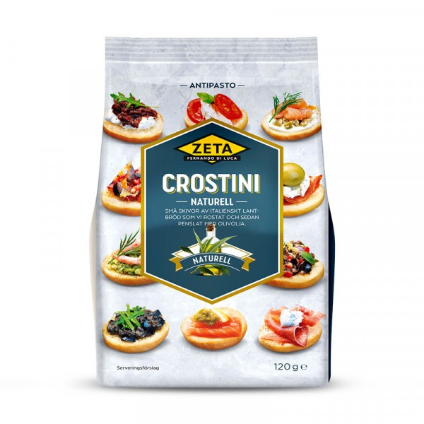 Crostini naturella 10x120g Zeta #6011