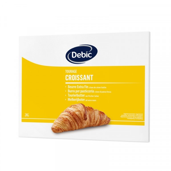 Osaltat Smör Croissant 5x2kg Debic #0900074