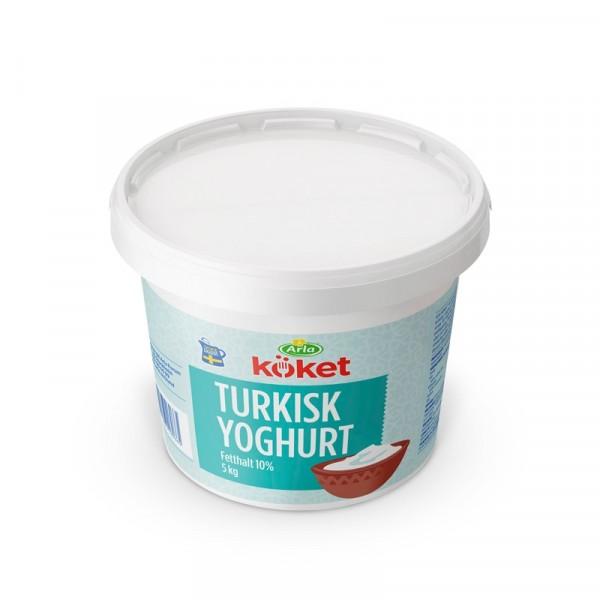 Turkisk Yoghurt 10%, 5 kg 1x5kg Arla #6966