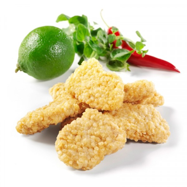 Chicken Nuggets, Friterade, 20g 3x2kg, Guldfågeln #7540
