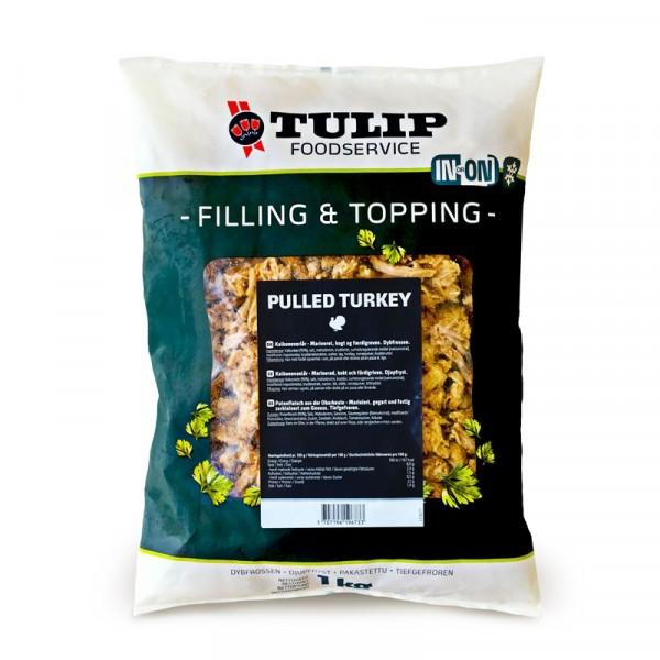 Pulled Turkey, färdigriven 6x1kg, Tulip #80005158
