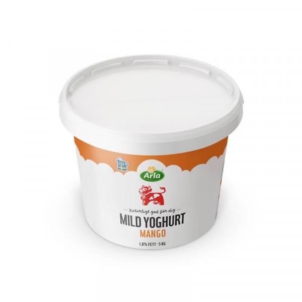 Mild Yoghurt Mango 1,8%, 5 kg 1x5kg, Arla #8907