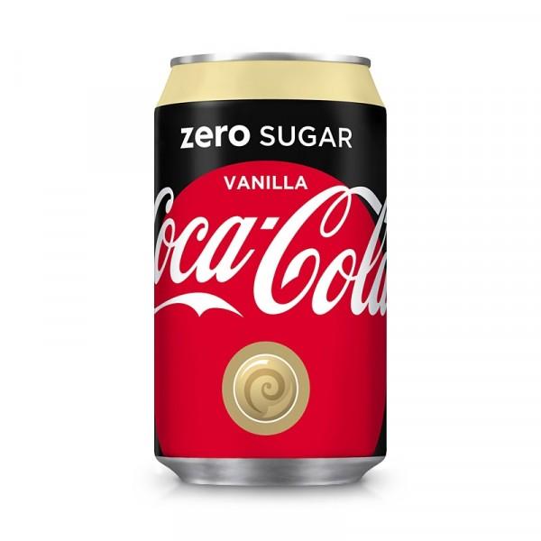 Coca Cola Zero, Vanilj 24x33cl, Coca Cola #2875