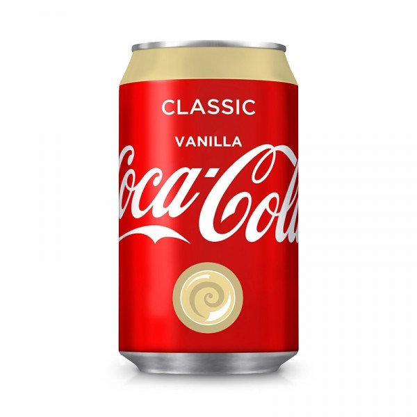 Coca-Cola Vanilj 24x33cl, Coca Cola #2411