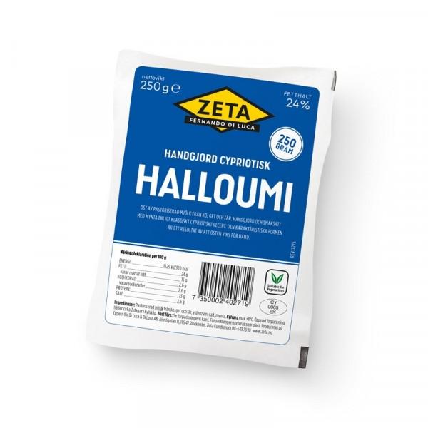 Halloumi 10x250g Zeta #9125