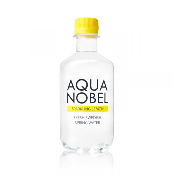 Kolsyrat Källvatten Citron, EKO 12x33cl, Aqua Nobel #71000