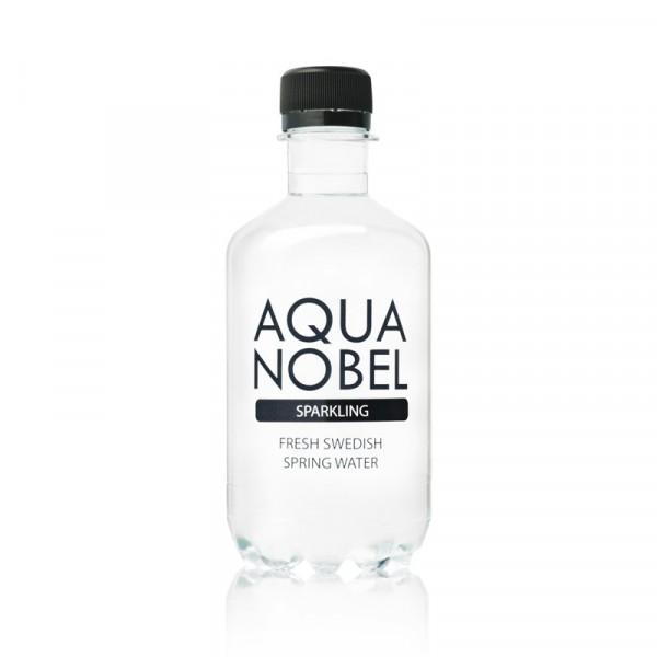 Kolsyrat Källvatten Naturell 12x33cl, Aqua Nobel #71005