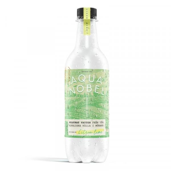 Kolsyrat Källvatten Citron Lime, EKO 12x50cl Aqua Nobel #700011220412