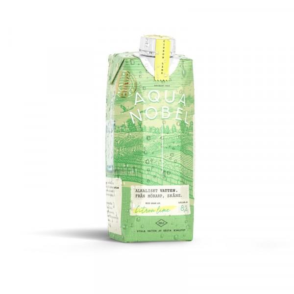 Stilla vatten Tetra Pak Citron/lime 12x50cl Aqua Nobel #700012220412
