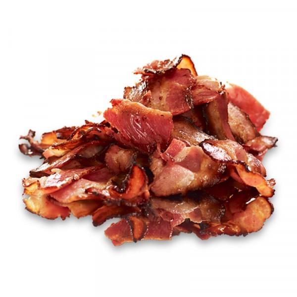 Hickoryrökt bacon, skivad & stekt 2x1.5kg Lithells #4528