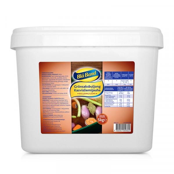 Grönsaksbuljong 1x5kg, Blå Band #4932