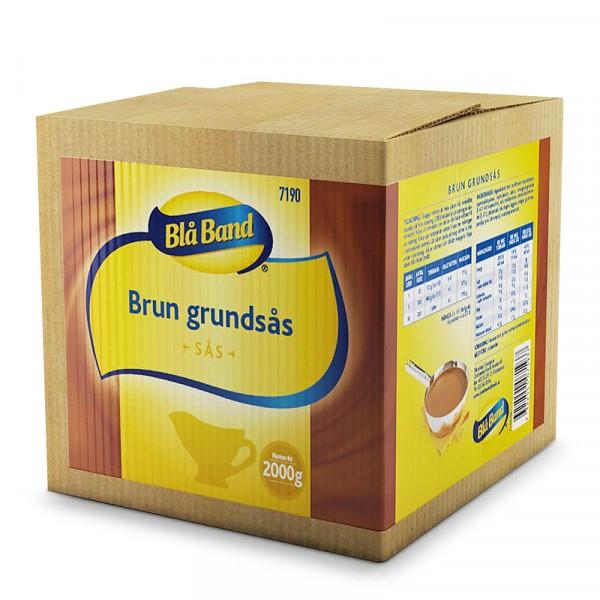 Brun Grundsås 1x2kg, Blå Band #7190