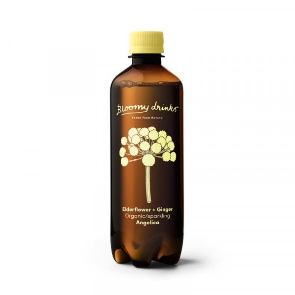 Elderflower & Ginger 12x50cl, Bloomy Drinks #113