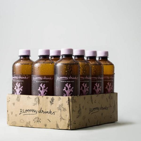 Grape & Lemon 12x50cl Bloomy Drinks #111
