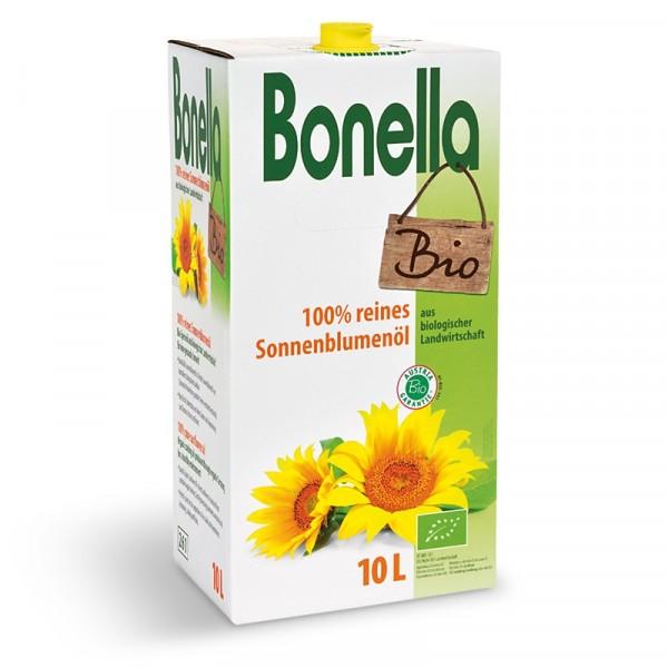 Ekologisk Solrosolja 1x10l Bonella #0000-3