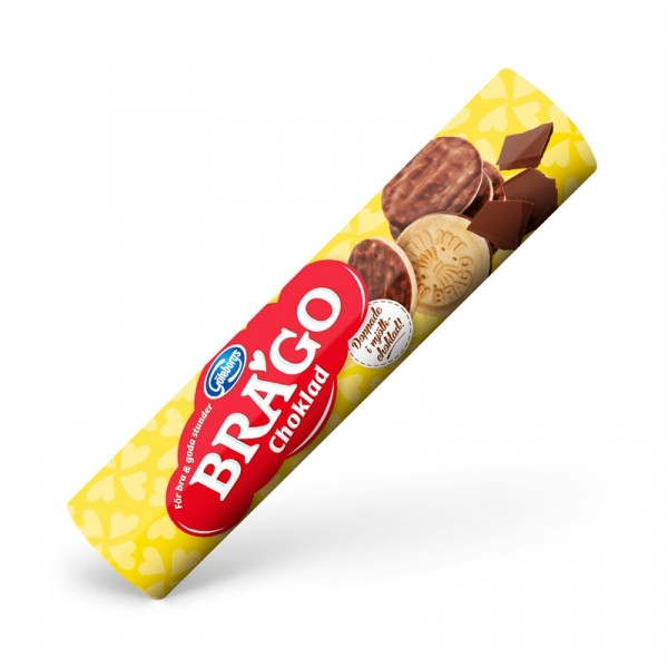 Brago Choklad 28x175g, Göteborgs Kex #5450100385
