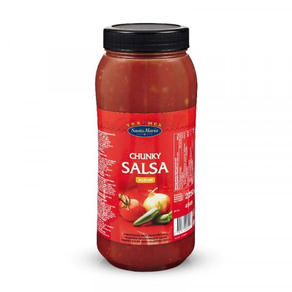 Chunky Salsa Medium 1x2250g Santa Maria #4549
