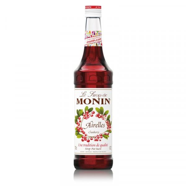 Tranbär, syrup 1x70cl Monin #M63