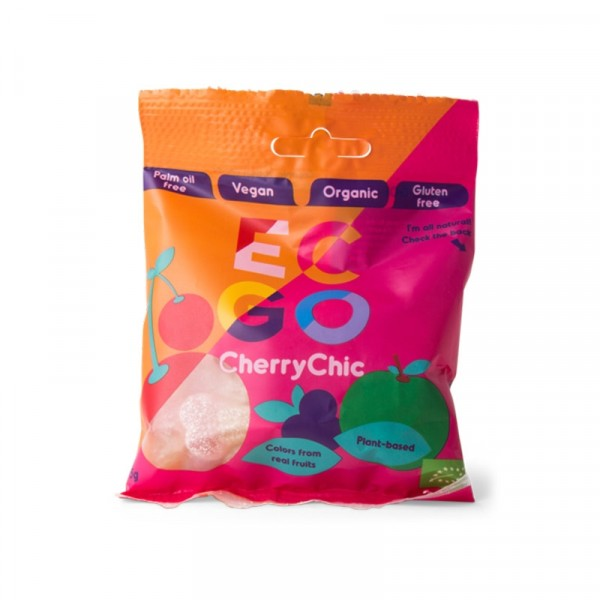 Veganskt & ekologiskt godis CherryChick 16x75g EC-GO #46