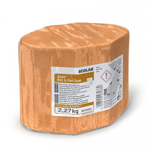 Blötläggningsmedel, Apex Pot & Pan Soak 3x6.81kg, ECOLAB #9080010