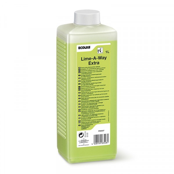 Avkalkningsmedel, Lime A Way Extra 4x1l ECOLAB #9035270