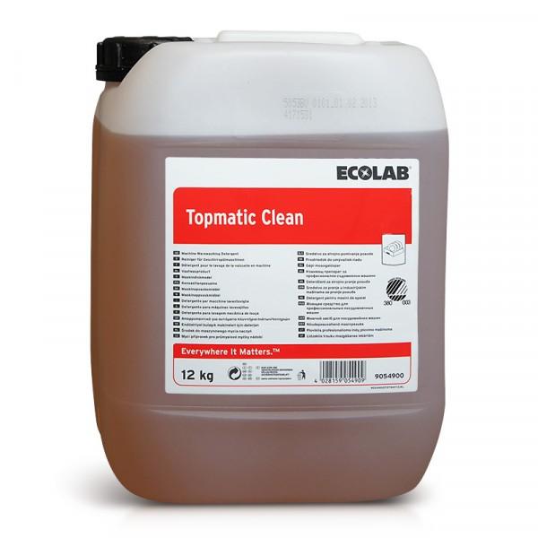 Maskindiskmedel, Topmatic Clean 1x12kg ECOLAB #9054900