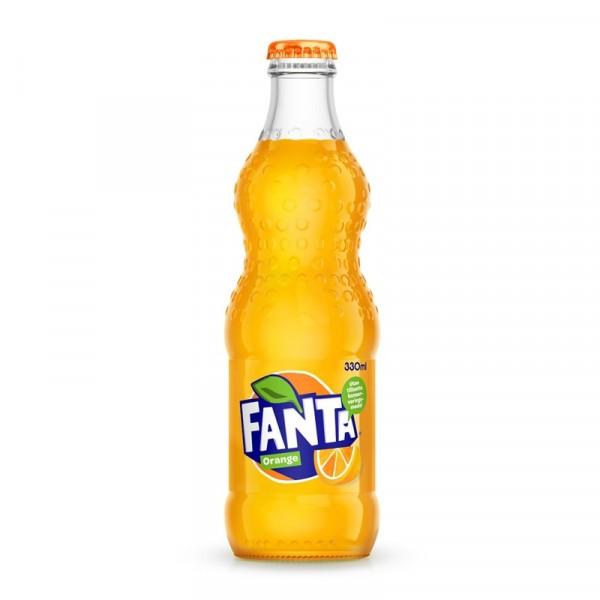 Fanta Orange 24x33cl Coca Cola #3028