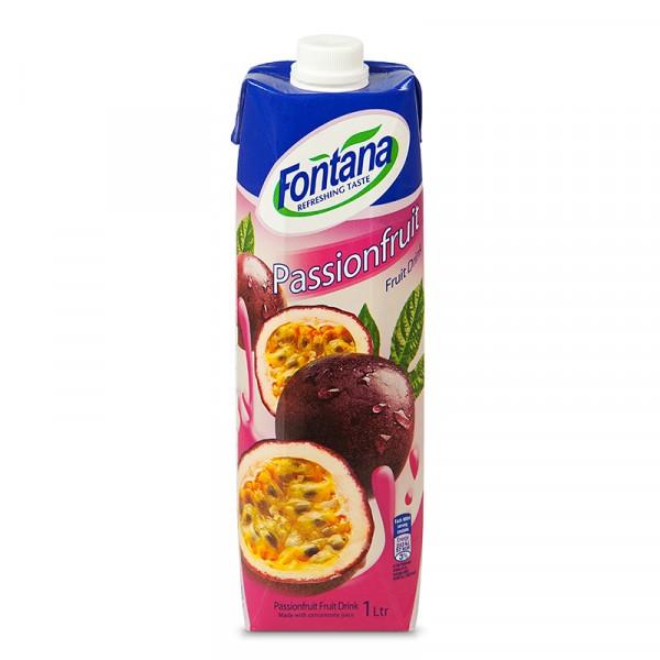 Fruktdryck, Passionsfrukt 12x1l Fontana #17535