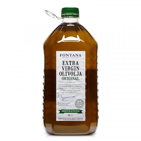 Olivolja Original, Extra Virgin 1x5l Fontana #67794