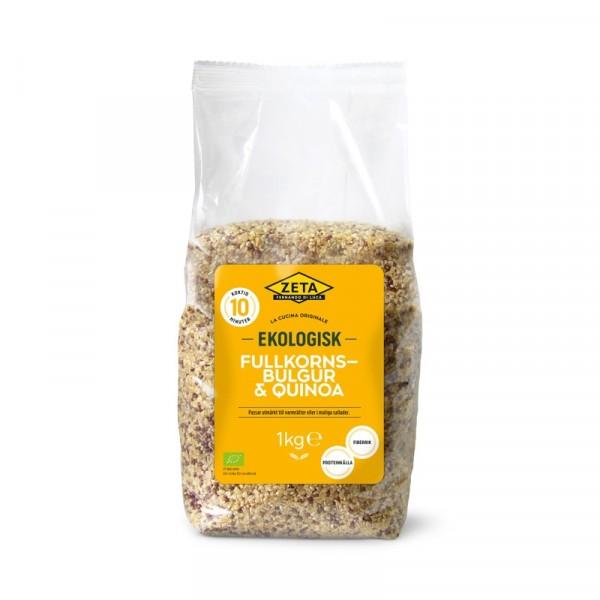 Fullkornsbulgur och Quinoa, EKO 6x1kg Zeta #1455