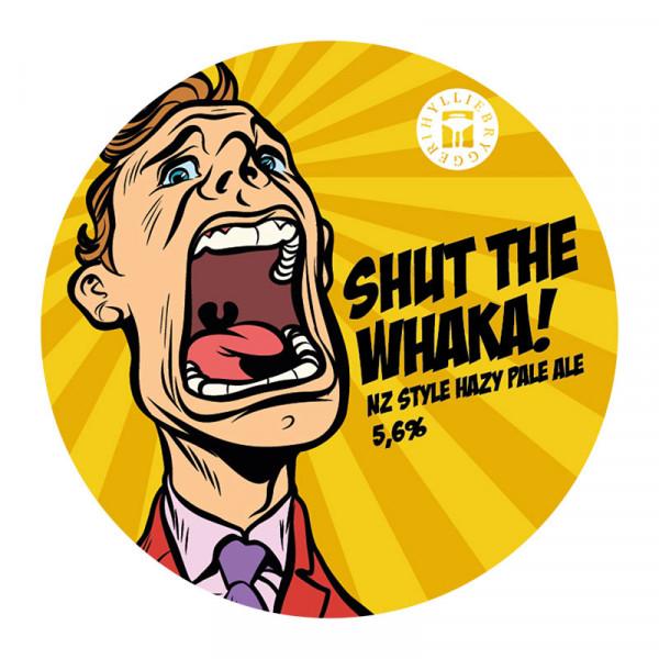 Shut the Whaka 5,6% FAT 1x20L Hyllie Bryggeri #8