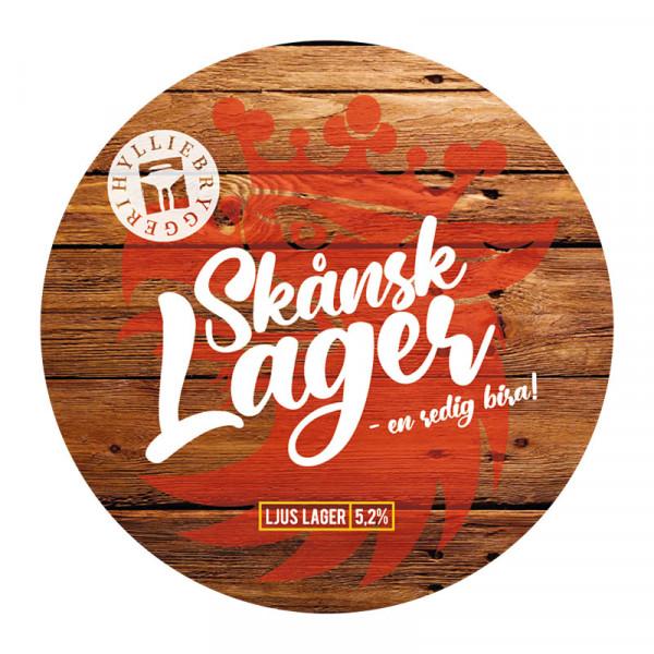 Skånsk Lager 5.2% FAT 1x30L Hyllie Bryggeri #2