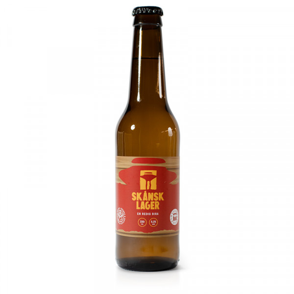 Skånsk Lager 5.2% 24x33cl Hyllie Bryggeri #1