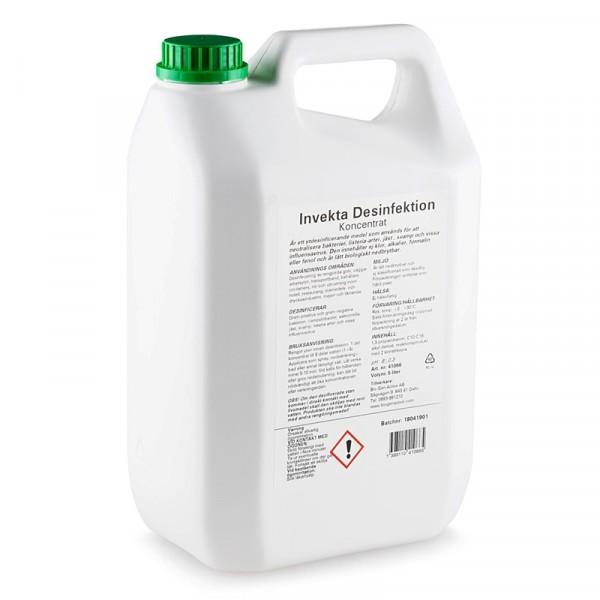 Desinfektionsmedel, Invekta 1x5l, Bio Gen Active #41066