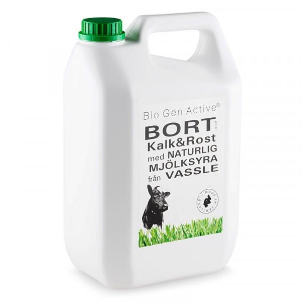 Avkalkningsmedel, Bort med Kalk & Rost refill 1x5l Bio Gen Active #42029
