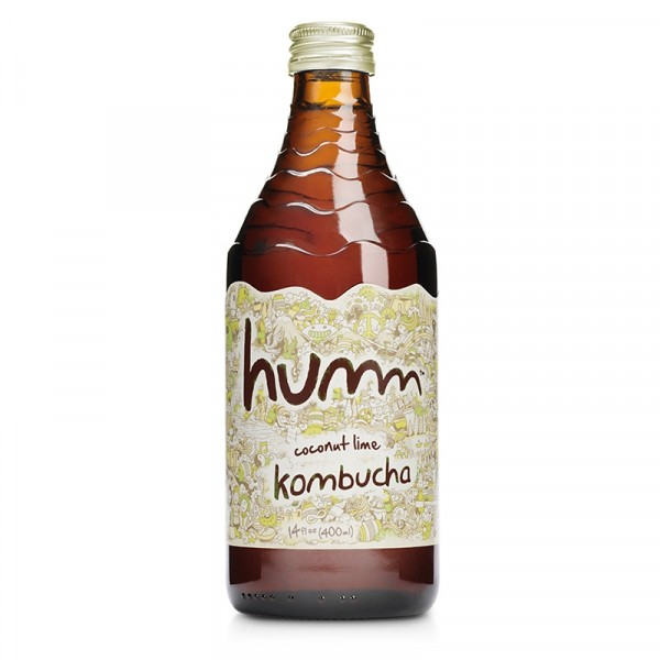 Kombucha Coconut Lime 12x414ml Humm #1003