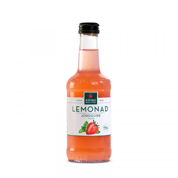 Jordgubb/Mynta, Lemonad 12x27.5cl Kiviks Musteri #63474