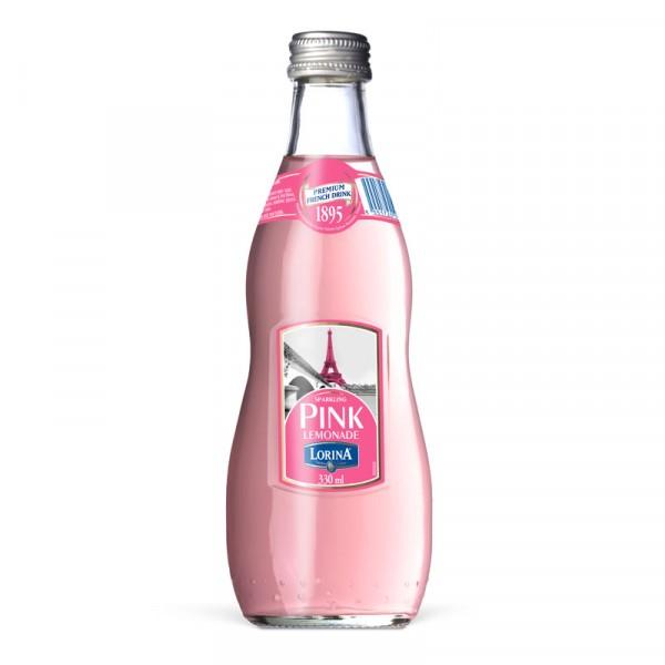 Pink Lemonade 12x33cl, Lorina #LO300
