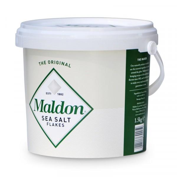 Maldon Saltflingor 1,5 kg 1x1.5kg, JOZO #5236
