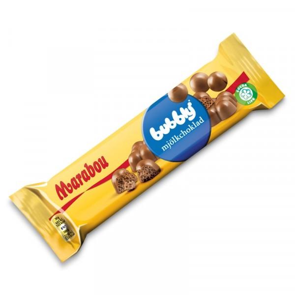 Marabou Bubblig Mjölkchoklad 20x60g Marabou #916404
