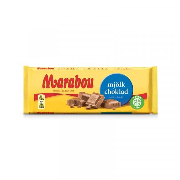 Marabou Mjölkchoklad 100g 24x100g Marabou #19083