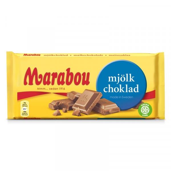 Marabou Mjölkchoklad 200g 18x200g Marabou #28227