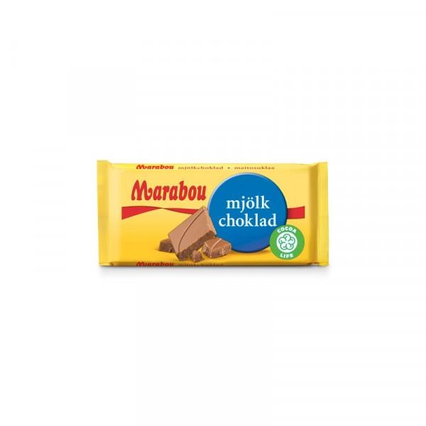 Marabou Mjölkchoklad 24g 64x24g Marabou #75348