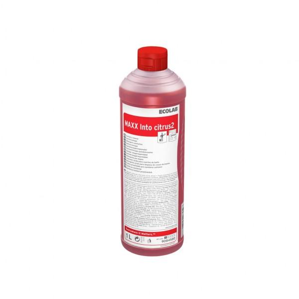 Sanitetsrengöringsmedel, MAXX Into Citrus2 12x1l ECOLAB #9084580