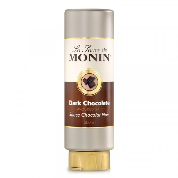 Mörk chokladsås 50cl, squeeze - Monin #M100