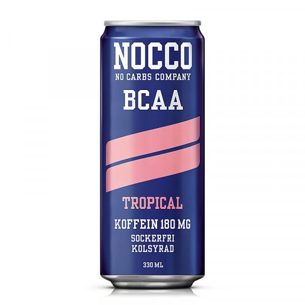 BCAA Tropical 24x330ml, NOCCO #6130