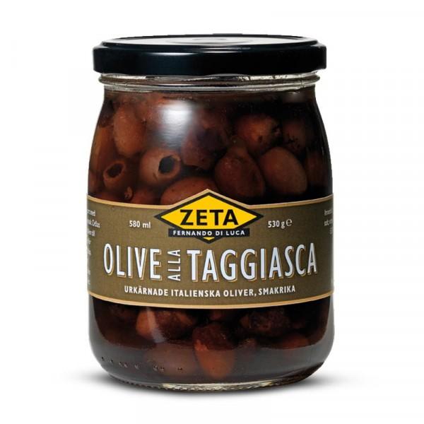 Oliver, Taggiasca, urkärnade 1x530g, Zeta #5232