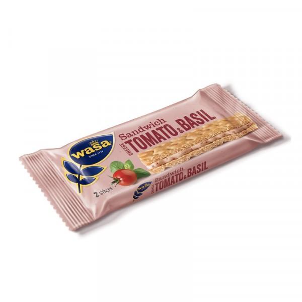 Sandwich, Cheese, Tomato & Basil 24x40g Wasa #8496